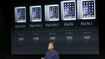 Pénzben fürdik az Apple