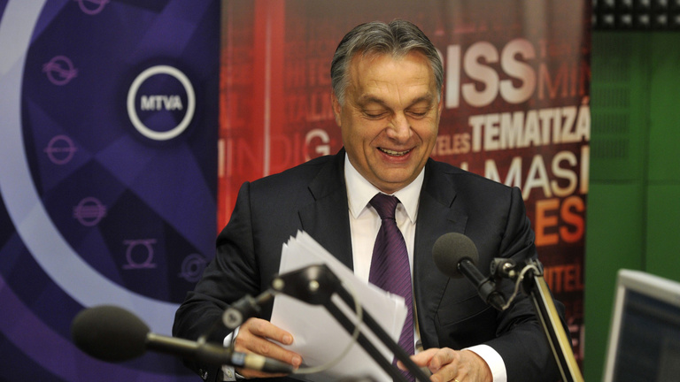 Orbán visszavonta a netadót