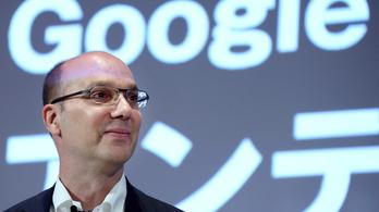 Otthagyja a Google-t az Android atyja