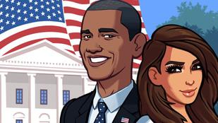 Kardashian dekoltázzsal szavazott Obamára