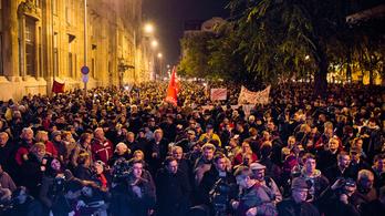Mit mond a Facebook a netadó elleni tüntetés résztvevőiről?