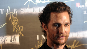 Matthew McConaughey csillagot kap Hollywoodban