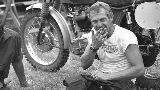 McQueen egy 1964-es Six Days-en