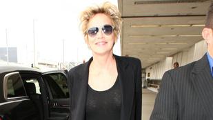 Sharon Stone talán soha többé nem vesz fel melltartót