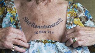 91 éves múltam, nem kérek újraélesztést