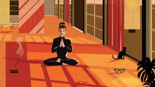 Jack Nicholson zokni-kötényben lazázik Alvar Aalto nappalijában