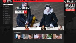 Online is nézheti már Shakespeare színházának előadásait