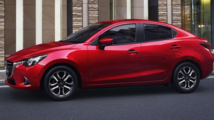 Leleplezték a négyajtós Mazda 2-est