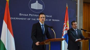 Szijjártó Belgrádban is kiállt a Déli Áramlatért