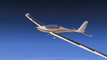 A sztratoszféráig repülne napelemmel