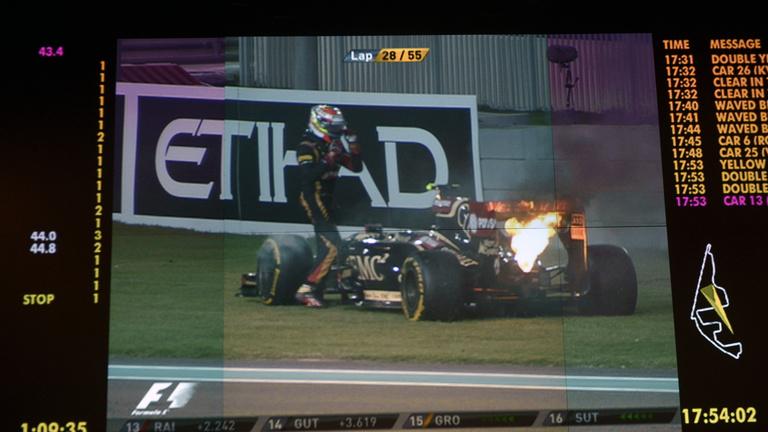 Maldonado és a Lotus szezonja egy képen