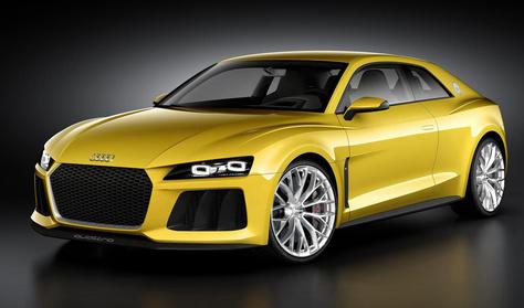 Az Audi Quattro él, és egyre vadabb lesz