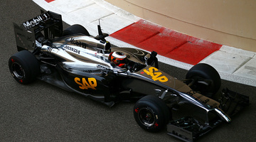 Besült a McLaren Honda az első napján
