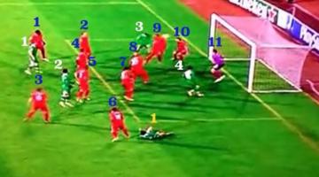 11 Pool-védő, 4 Ludogorec-csatár, persze, hogy gól a vége