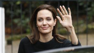 Angelina Jolie mellbimbói Párizsban törtek át a pulcsiján