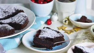 Kladdkaka, a svéd csokitorta – csoki nélkül
