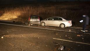Halálos karambol az M2-es úton