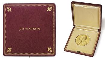 Az orosz iparmágnás azért vette meg Watson Nobel-díját, hogy visszaadja neki