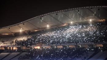A netadó elleni tüntetést idézte a Besiktas-Tottenham