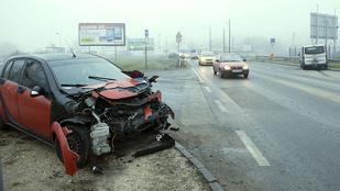Súlyos baleset a Bécsi úton