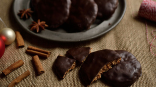 Nürnberger Lebkuchen: lisztmentes csokis puszedli