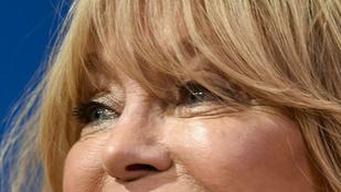 Goldie Hawnról elég előnytelen fotó készült