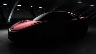 Januárban jön a második NSX