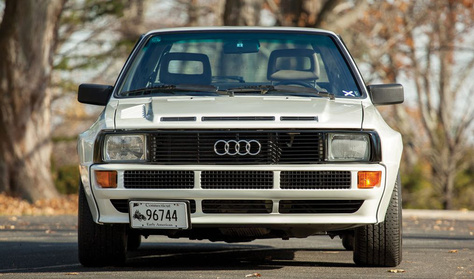 Legendás Audi százmillióért