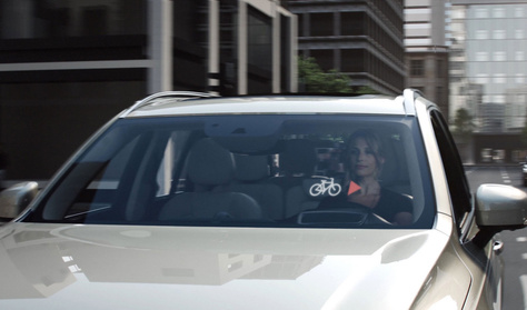 A biciklisekre is vigyáz a Volvo