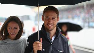 Jenson Button megházasodott