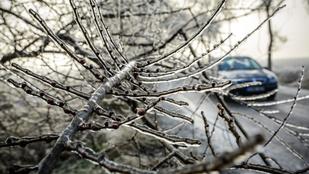 Keleten havazás jön és ónos eső