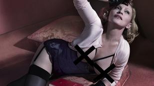 Madonna lázadó szívvel és fedetlen mellekkel veszi be 2015-öt
