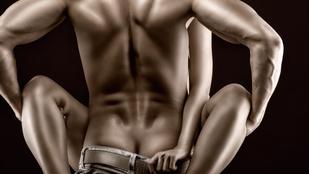 Sokat szexel a két farokkal született férfi
