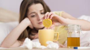 Így küzdje le házi praktikákkal az influenzát!