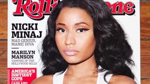 Nicki Minaj szinte kibuggyanó mellekkel szerepel a Rolling Stone címlapján