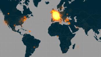A Twitteren is durva a terrortámadás
