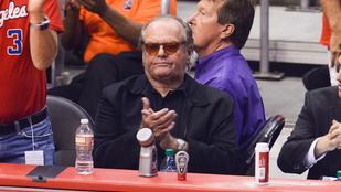 Jack Nicholson attól fél, hogy magányosan fog meghalni