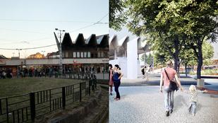 Így alakul át a Széll Kálmán tér