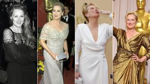 Meryl Streep 40 éve uralja a vörös szőnyeget
