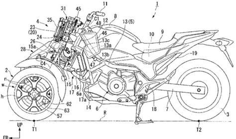 Háromkerekű motort fejleszt a Honda