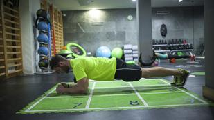 Plank challenge: fogyni nem fog, de legalább csinálja jól