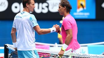 Nadalt lenullázták az Australian Openen