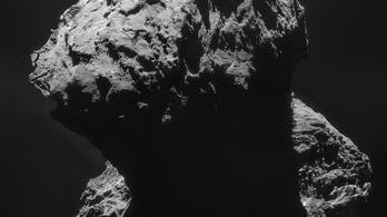 Ledobta köpenyét a 67/P üstökös