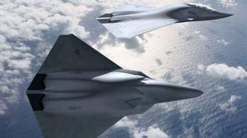 Már készül az USA új vadászrepülője