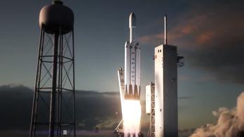 Így száguld majd a világ legerősebb rakétája