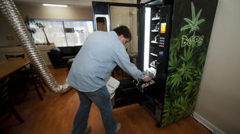 Sültkrumpli- és fűautomata is van már a világon