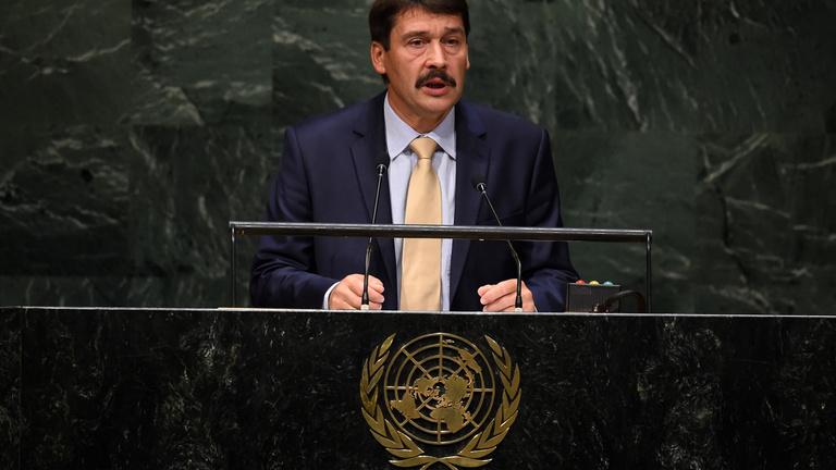 Áder nem indul az ENSZ-főtitkári posztért