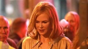 Nézze meg Nicole Kidmant filmforgatás közben!
