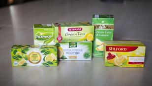 Teszt: citromos teákkal a tavaszba