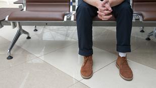 Császármetszés - a várószoba férfimagánya